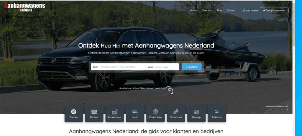 Aanhangwagens Nederland